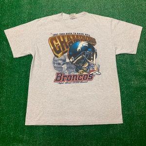 Vintage Denver Broncos Super Bowl Champions Shirt
